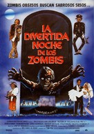 Return of the Living Dead Part II - Spanish Movie Poster (xs thumbnail)