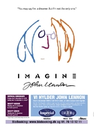 Imagine: John Lennon - Danish Movie Poster (xs thumbnail)