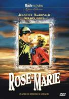 Rose-Marie - Brazilian DVD cover (xs thumbnail)