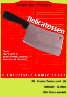 Delicatessen - Singaporean Movie Poster (xs thumbnail)