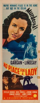 No Place for a Lady - Movie Poster (xs thumbnail)