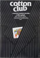 The Cotton Club - Czech Movie Poster (xs thumbnail)