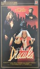 Countess Dracula - Spanish VHS movie cover (xs thumbnail)