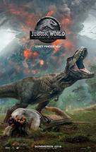 Jurassic World: Fallen Kingdom - Danish Movie Poster (xs thumbnail)