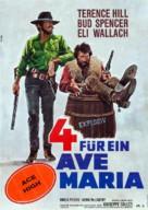 I quattro dell'Ave Maria - German Movie Poster (xs thumbnail)