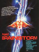Brainstorm - German Movie Poster (xs thumbnail)