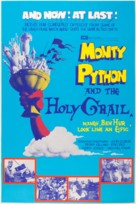 Monty Python and the Holy Grail - British Theatrical movie poster (xs thumbnail)