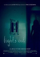 Lights Out - Dutch Movie Poster (xs thumbnail)