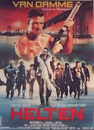 Cyborg - Danish Movie Poster (xs thumbnail)