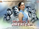 Married 2 America - Indian Movie Poster (xs thumbnail)