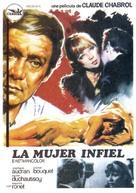 La femme infidèle - Spanish Movie Poster (xs thumbnail)