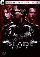 Blade: Trinity - South Korean DVD movie cover (xs thumbnail)