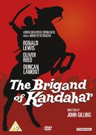 The Brigand of Kandahar - British DVD movie cover (xs thumbnail)