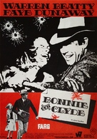 Bonnie and Clyde - Swedish Movie Poster (xs thumbnail)