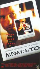 Memento - Finnish Movie Cover (xs thumbnail)