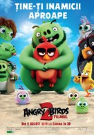 The Angry Birds Movie 2 - Romanian Movie Poster (xs thumbnail)