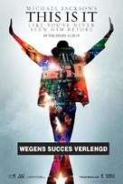This Is It - Dutch Movie Poster (xs thumbnail)