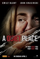 A Quiet Place - Australian Movie Poster (xs thumbnail)