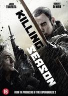 Killing Season - Dutch DVD cover (xs thumbnail)
