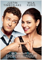 Friends with Benefits - Spanish Movie Poster (xs thumbnail)