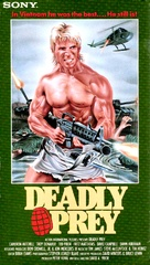 Deadly Prey - VHS cover (xs thumbnail)