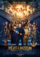 Night at the Museum: Secret of the Tomb - Finnish Movie Poster (xs thumbnail)