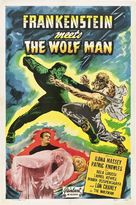 Frankenstein Meets the Wolf Man - Theatrical poster (xs thumbnail)