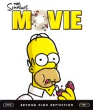 The Simpsons Movie - Blu-Ray movie cover (xs thumbnail)