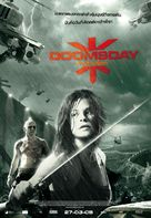 Doomsday - Thai Movie Poster (xs thumbnail)