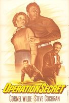 Operation Secret - French Movie Poster (xs thumbnail)