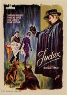Judex - Spanish Movie Poster (xs thumbnail)