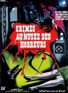 Horrors of the Black Museum - French Movie Poster (xs thumbnail)