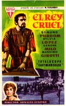 Erode il grande - Spanish Movie Poster (xs thumbnail)