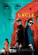 The Man from U.N.C.L.E. - Turkish Movie Poster (xs thumbnail)