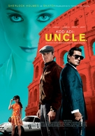 The Man from U.N.C.L.E. - Turkish Movie Poster (xs thumbnail)
