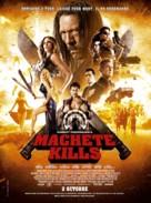 Machete Kills - French Movie Poster (xs thumbnail)