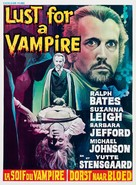 Lust for a Vampire - Belgian Movie Poster (xs thumbnail)