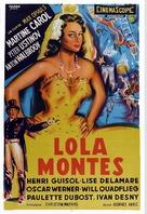 Lola Montès - Argentinian Movie Poster (xs thumbnail)