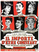 The Importance of Being Earnest - Belgian Movie Poster (xs thumbnail)