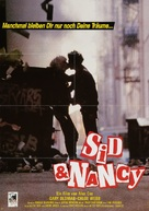 Sid and Nancy - German Movie Poster (xs thumbnail)