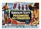 Comanche Station - Belgian Movie Poster (xs thumbnail)