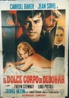 Il dolce corpo di Deborah - Italian Movie Poster (xs thumbnail)