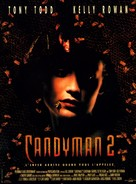 Candyman: Farewell to the Flesh - French Movie Poster (xs thumbnail)
