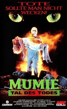 The Mummy Lives - German VHS cover (xs thumbnail)