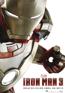 Iron Man 3 - Mexican Movie Poster (xs thumbnail)