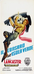 The Crimson Pirate - Italian Theatrical poster (xs thumbnail)