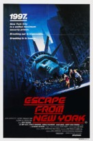 Escape From New York - Australian Movie Poster (xs thumbnail)