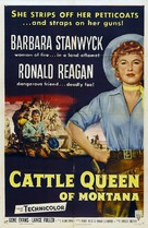 Cattle Queen of Montana - Movie Poster (xs thumbnail)