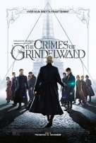 Fantastic Beasts: The Crimes of Grindelwald - Icelandic Movie Poster (xs thumbnail)