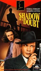 Shadow of a Doubt - VHS cover (xs thumbnail)